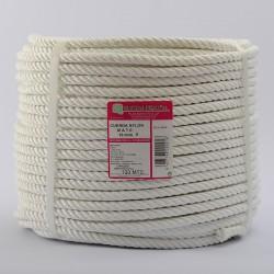 ROLLO CUERDA NYLON CABLEADA (4 cabos) 10 mm Ø