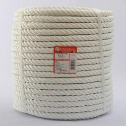 ROLLO CUERDA NYLON CABLEADA (4 cabos) 16 mm Ø