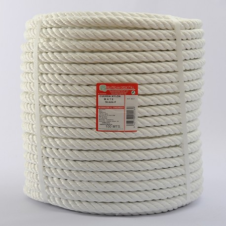 BRAIDED NYLON COIL (4 ends) 16 mm Ø