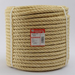 BRAIDED SISAL ROPE COIL (4 ends) 16 mm Ø