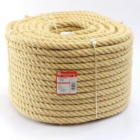 ROLLO CUERDA SISAL CABLEADA (4 cabos) 22 mm Ø